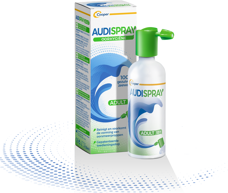 Clean your ears with Audispray Adult