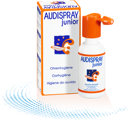 Vieux packaging Audispray Adult